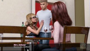TimeStamp – day 6 – Threesome with Juliana and Heather